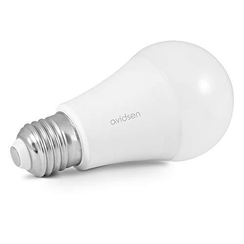 Avidsen 127007 Ampoule connectée certifiée Alexa et Compatible Google, Blanc