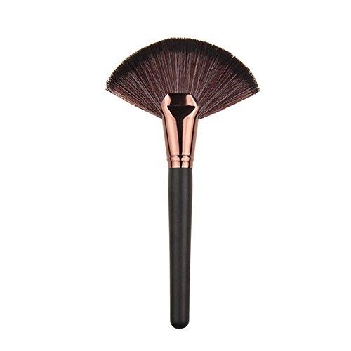 Xianshiyan Foundation Brush Brosses à polir à Dessus Plat Grand en Forme d'éventail Blush Brush Makeup Tool Makeup Brush