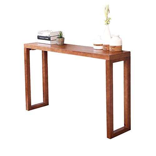 Thuis magazijn Massief hout Ingang tafel, Console Lange tafel Ingang Kast Lange smalle tafel Decoratieve eindtafel