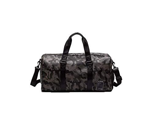 YX Camouflage Reisetasche Wasserdicht Sporttasche Leder Tragetasche Groß Handgepäck Verschleißfest Fitness Handtasche