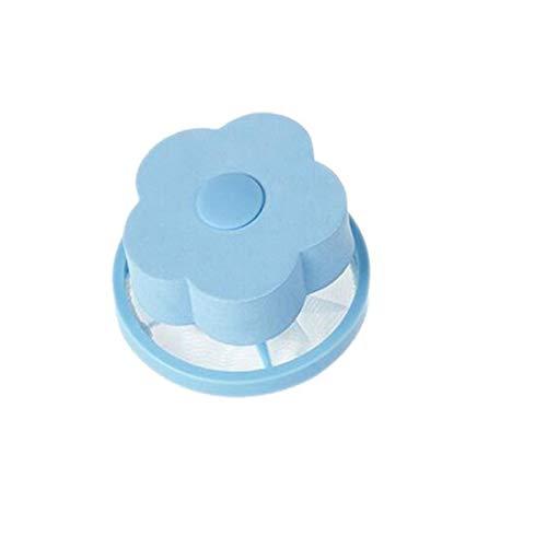Greatangle Machine à laver épilation boule à linge bleu