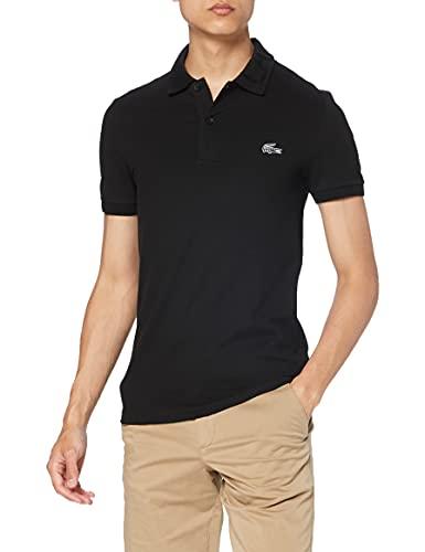 Lacoste PH1848 Camisa de Polo, Black, 4XL para Hombre