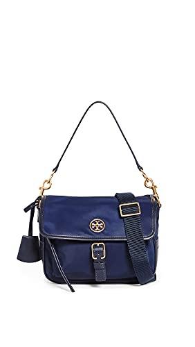 Tory Burch Women's Piper Crossbody Bag, Royal Navy, Blue, One Size