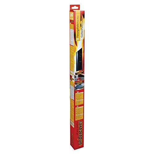 UNDERCOVER 1365 Sonnenschutz- und Tönungsfolie Autofolie für Heckscheibe selbstklebend tiefschwarz mit AGB,Maße 75 x 152 cm