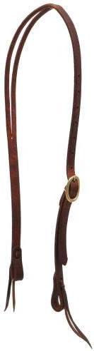 Showman Heavy Oiled Harness Large-scale sale Leather Headstall Brass Fees free Split Ear w