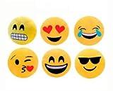 Vasara Cojín Emoticonos 32 Cm - Cojines Emoticonos Emojis Se sirven Surtidas en 4 Modelos....