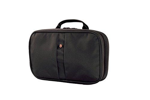 Victorinox Zip-Around Travel Kit, Black/Black Logo, One Size