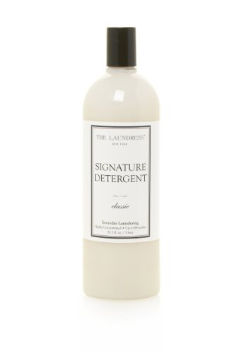 The Laundress - Signature Laundry Detergent Liquid, Classic, Preserves Color, Fights Stains, Allergen-Free Clothes Detergent, 33.3 fl oz, 64 washes