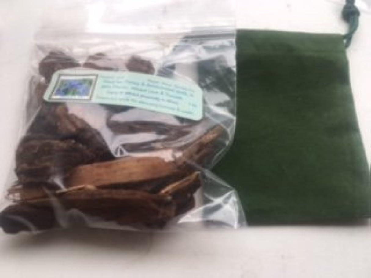 ジェームズダイソン忠実去るJezebelルート~ 1?oz Dried Herb ~ WithグリーンベルベットMojoバッグ~ Ravenz Roost Herb with special Info Onラベル