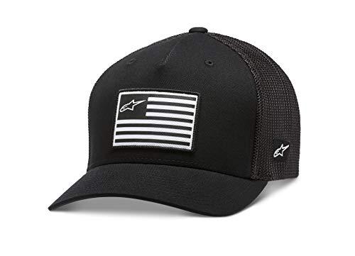 Alpinestars Men's Flag Hat, Black, Large/X-Large
