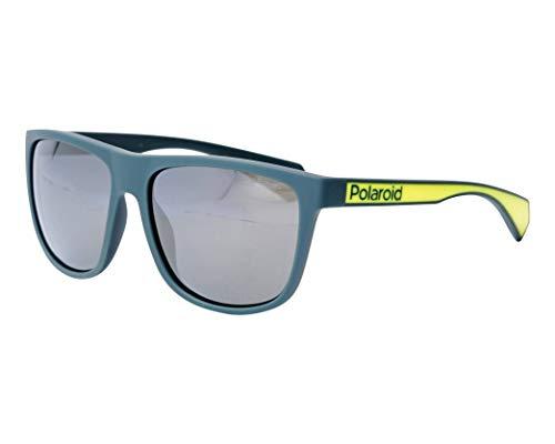 Polaroid Sonnenbrillen (PLD-6062-S GP7LM) matt grün - matt gelbfarben - grau polarisierte mit verspiegelt effekt
