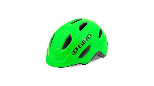 Giro Kinder Scamp Fahrradhelm , green/lime , Small (Herstellergröße : 49-53 cm)
