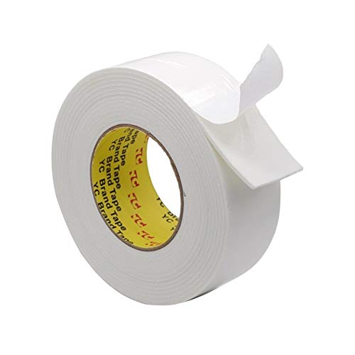 Klebepads, Schaum Wetter Stripping Wetter Stripping for Türen Sponge Doppelseitige Acrylic Foam Klebebänder Seal, Keder, Wasserdicht, Sanitär, Kunsthandwerk Band (Farbe : 2.5m, Size : 75mm)