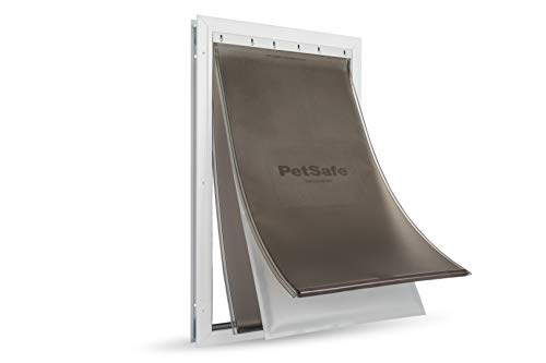 PetSafe Puerta para Perros y Gatos con Marco de Aluminio para Condiciones climáticas extremas de Alta eficiencia energética de 5352.39 ml