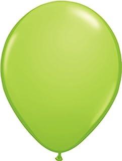ゴム風船 Qualatexバルーン(ラウンド無地・ファッションカラー)ライムグリーン 16インチ(直径42cm) 50個入り/袋