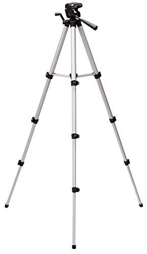 Original Einhell Teleskop Stativ Tripod (passend für Lasernivelliergerät und Kreuzlinienlaser, Arbeitshöhe 37-110 cm)