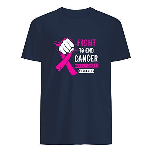 AKDesigns - Camiseta para concienciación sobre el cáncer de mama