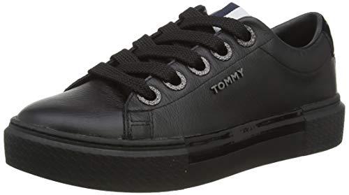 Tommy Hilfiger Damen Anya 1a1 Sneaker, Schwarz (Black Bds), 41 EU