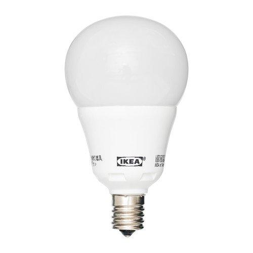 IKEA(イケア) LEDARE LED電球 E17 球形 オパールホワイト