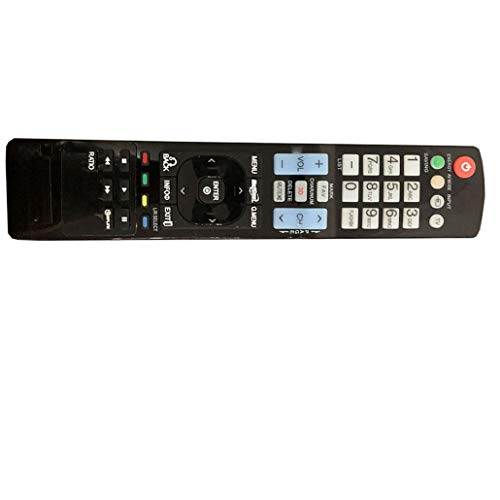 Easy Replacement Remote Control Suitable for LG 47SL95 37LK453C 32LE5300-UC Plasma LCD LED HDTV TV