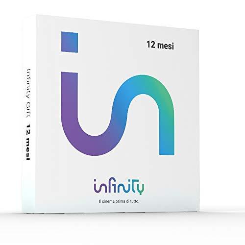 Infinity+, Cofanetto Regalo per 12 mesi, il Meglio di Cinema, Serie Tv, Cartoni Animati - Gift Box