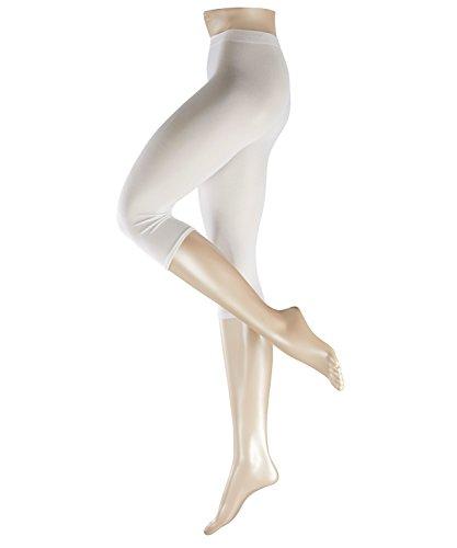 ESPRIT Damen Capri Leggings Cotton - Baumwollmischung, 1 Stück, Weiß (White 2000), Größe: S