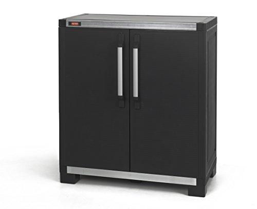 Allibert XL Pro Base Cabinet 224279, 1 Stück, schwarz