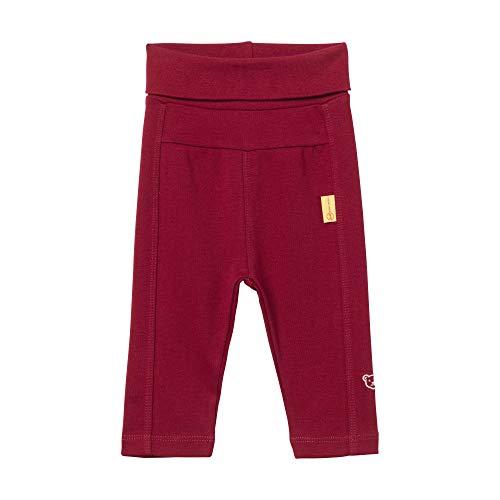 Steiff Baby-Mädchen Jogginghose Jeans, Rot (BEET RED 4010), 68 (Herstellergröße:68)