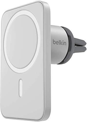 Belkin Kfz-Lüftungshalterung PRO mit MagSafe für iPhone 12 und iPhone 12 Pro (magnetische Befestigung für alle iPhone 12-Modelle im Auto)