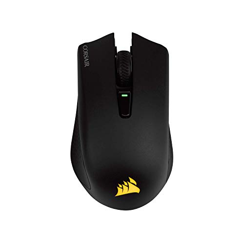 CORSAIR Harpoon RGB Wireless - Wireless Rechargeable Gaming Mouse - 10,000 DPI Optical Sensor (Renewed)