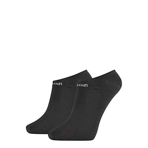Calvin Klein Socks Womens Liner 2p Gripper Leanne Socks, Black, ONE Size