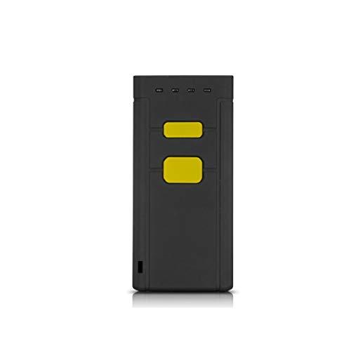 Mini Bluetooth Lector de Codigo de Barras, BAOSHARE Portatil Escáner de Código de Barras 3 - en - 1 de 2,4 GHz wireless & wired conexion USB escaner Escaner de codigo de barras 1D & bluetooth4.0 Wireless para POS / Android / iOS / iMac / iPad (Escaner portatil 1D 1pack)