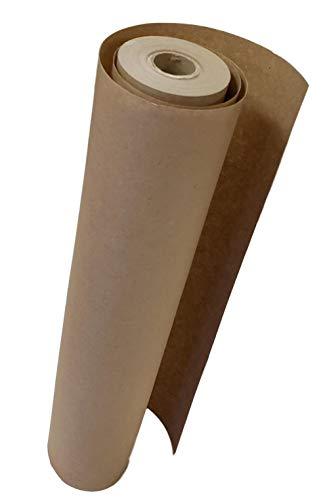 TradeGear Kraftpapierrolle Ideales Geschenkpapier für Geschenke, PAKETE, Versand, Kids Art & Craft 17,75