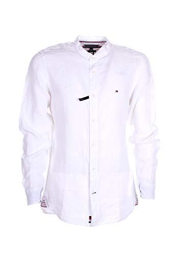 Tommy Hilfiger MW0MW18446YBR Camicia Uomo Uomo Bianco S