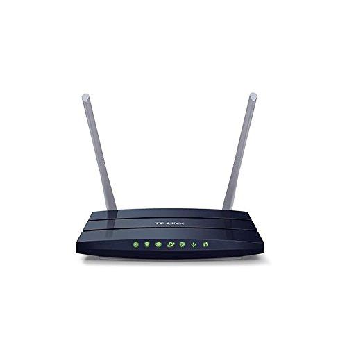 TP-Link Archer C50 AC1200 Dualband WLAN Router(für Anschluss an Kabel-/DSL-/GlasfaserModem, 300 Mbit/s(2,4GHz)+867 Mbit/s(5GHz), App Steuerung, IPv6, USB 2.0, Print/Media/FTP Server)