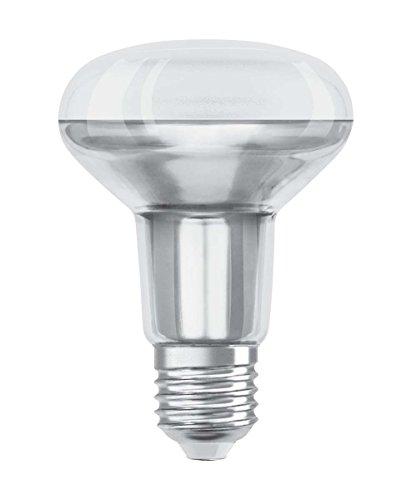 Osram LED Star R80 Reflektorlampe, Sockel: E27, Warm White, 2700 K, 4, 30 W, Ersatz für 60-W