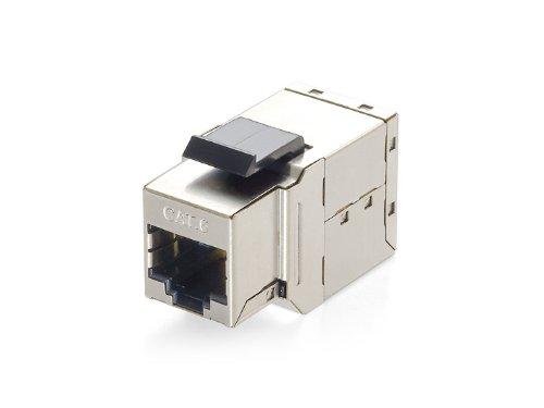 E-Quip Equip 125489RJ45RJ45Silber–Kabel-Adapter (RJ45Kabel Adapter, RJ45, weiblich/weiblich, Silber)