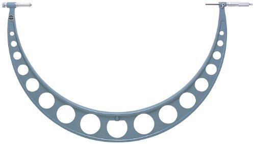 Mitutoyo 105–106 Série 105 extérieur Micromètre avec extension enclume Collier, 800 Mm-900 mm Gamme, collier de 50 mm, graduation 0,01 mm