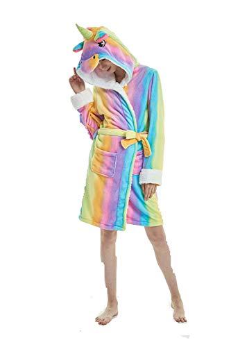 Adulto Animal del Onesie Licorne Pijamas con Capucha Unisexo la Ropa de Noche del Traje del Anime de Cosplay Disfraz Homewear Lounge Sleepwear