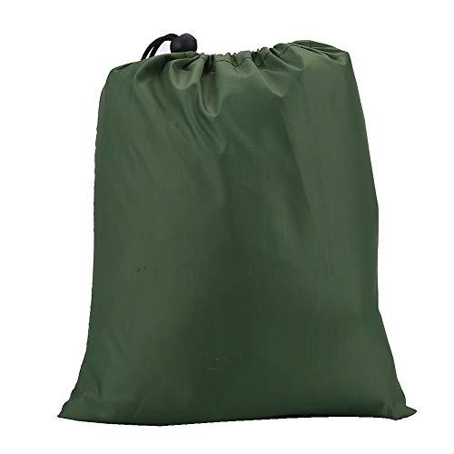 Wolfgo Tent Tarp-Outdoor Portable Lightweight Waterproof Rain Tarp Fly Tent Tarp Shelter (Green)