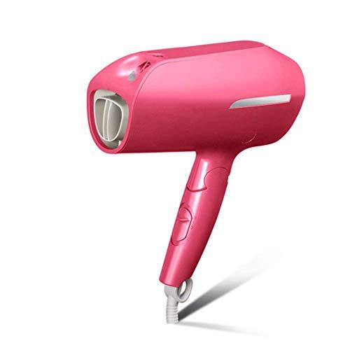 Le sèche-cheveux intelligent de contrôle de température, le dessiccateur de cheveux d'ion d'eau nano 1800W le dessiccateur de haute puissanceaucune blessure pour des enfants,Pink