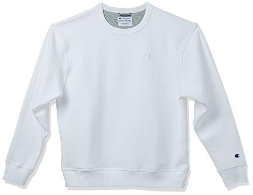 Champion Herren Powerblend Pullover Sweatshirt, weiß, X-Groß