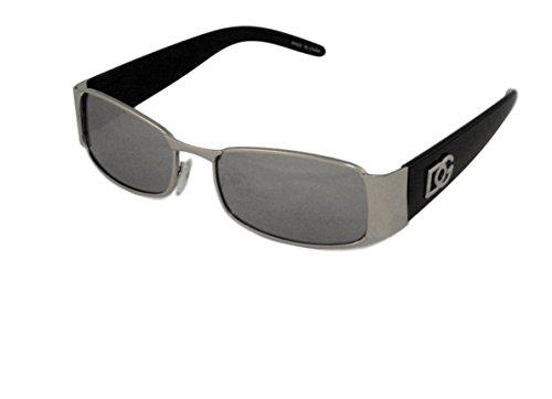 New DG Mens Womens Rectangular Designer Sunglasses shades # zb120 Black