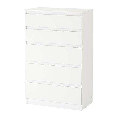 Unbekannt IKEA Kullen Kommode mit 5 Schubladen; in weiß; (70x112cm)