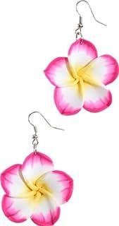 Ohrringe Hawaii, pink