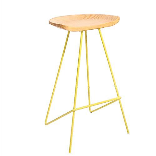 Chaise de bar Creative Mode Chaise en fer forgé Café Lounge Bar Chaise haute Chaise haute pour tabourets