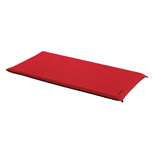 Trangoworld Confort Lite 210 x 105 x 7,5 cm (Rouge/Gris - 210 x 105 x 7,5 cm