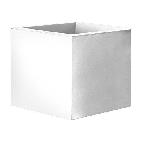 Serralunga cubotti Vaso, Bianco, 68x68x60 cm