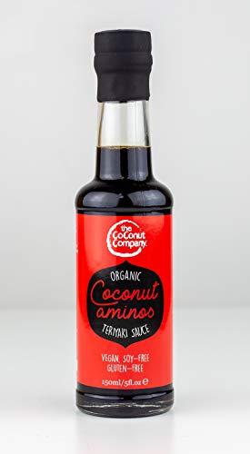 Salsa Amino Orgánica - Estilo Teriyaki - 150ml - THE COCONUT COMPANY, Quantity:1 botlle
