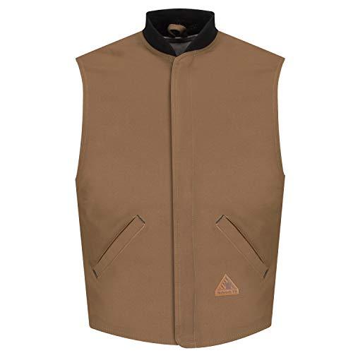 Bulwark Heavyweight FR Brown Duck Vest Jacket Liner, Medium